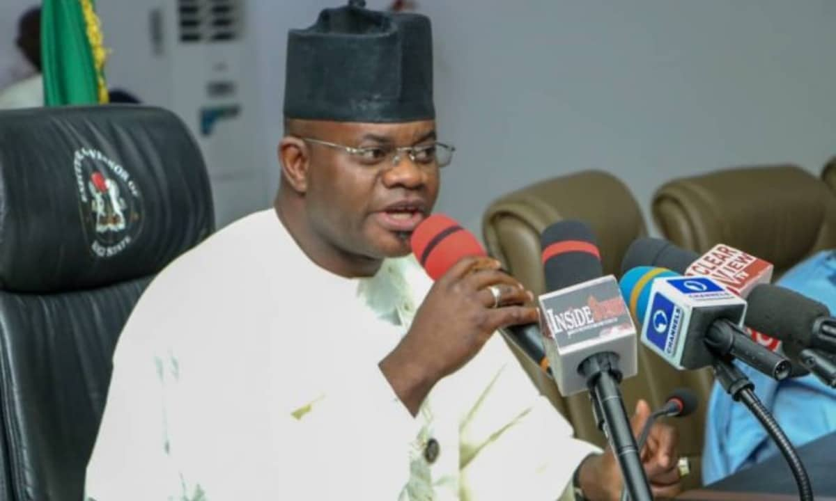 Yahaya Bello Reveals More on COVID-19 palliatives saga (video)