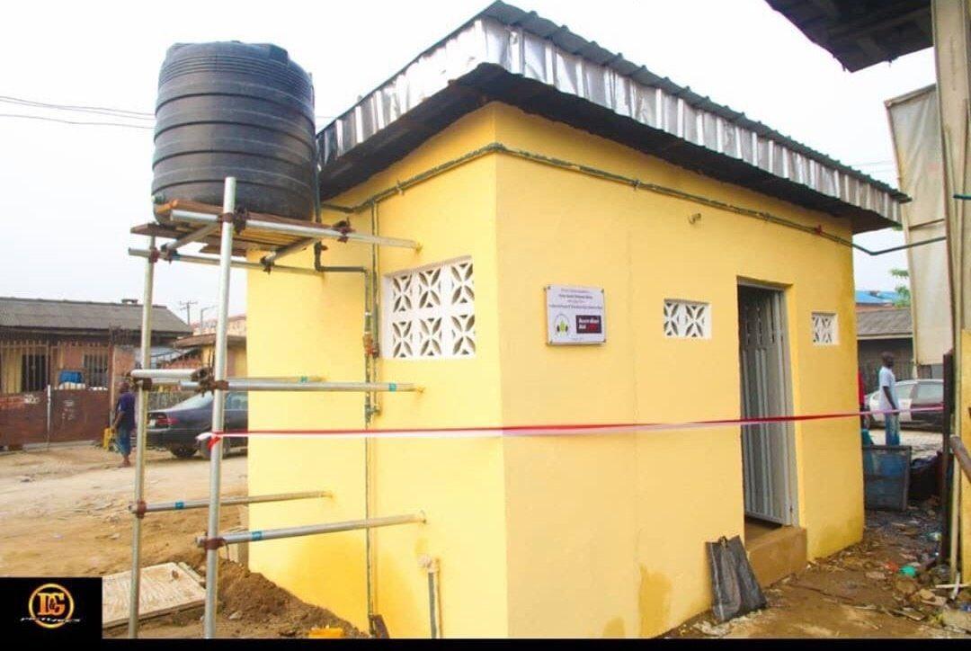Desmond Elliot's constituency project in Surulere