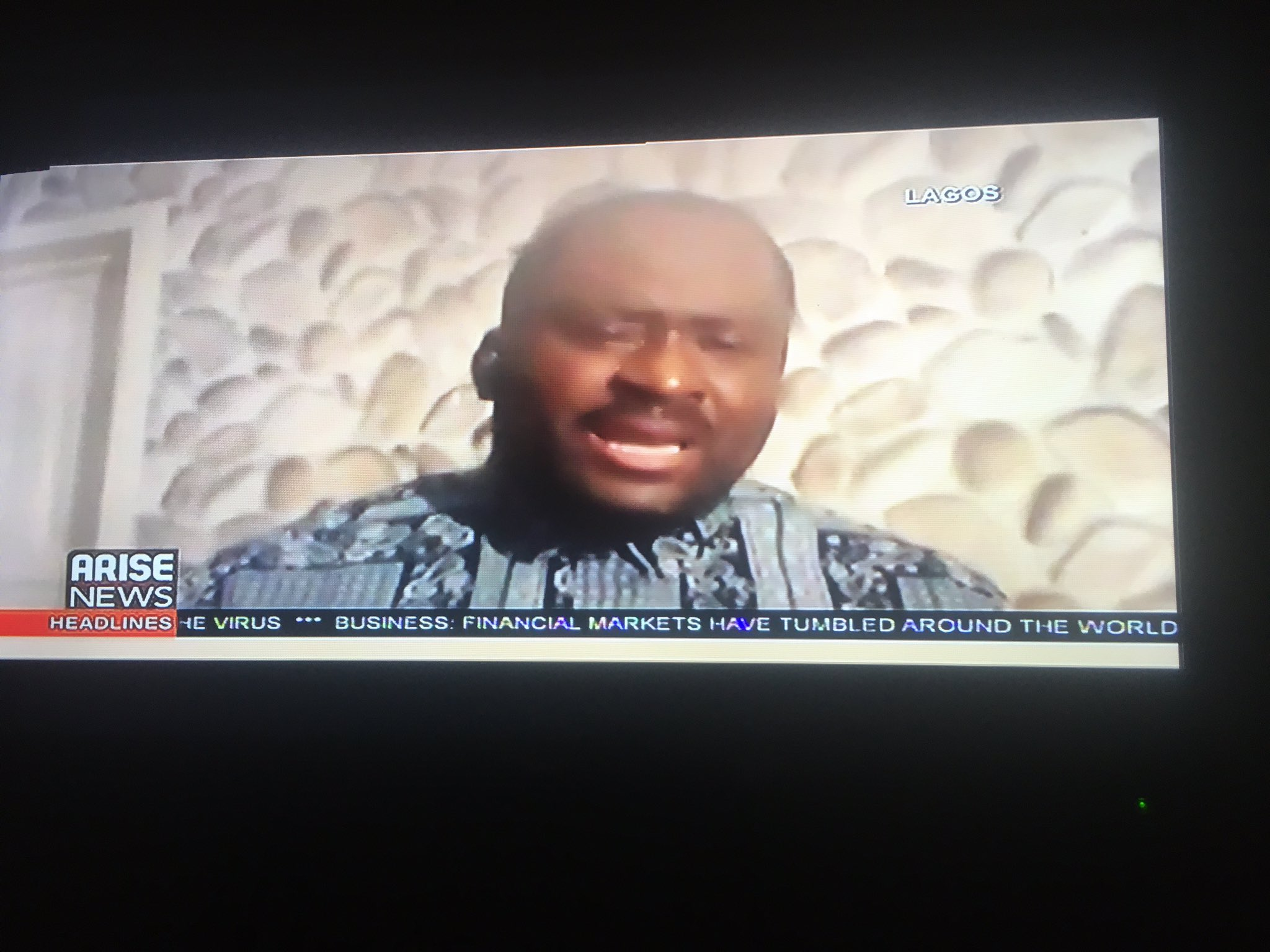 Desmond Elliot Cries on Arise Tv, youths dig up his past (video)