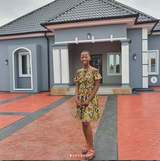 Emmanuella builds House for Mum (pictures)