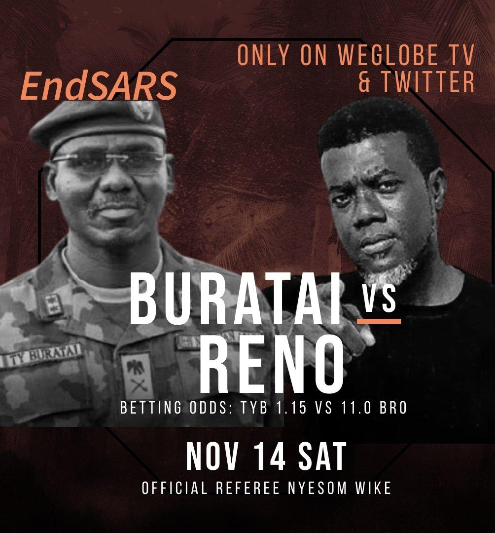 Reno Omokri Challenges Gen.Brutai to a fight to die0