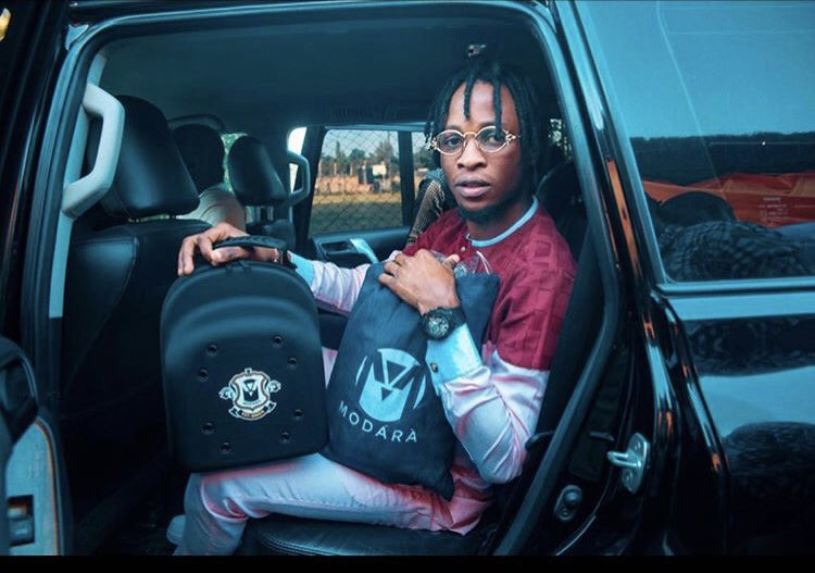 Laycon gets brand New Mercedes Benz and studio as he turns 27(video)