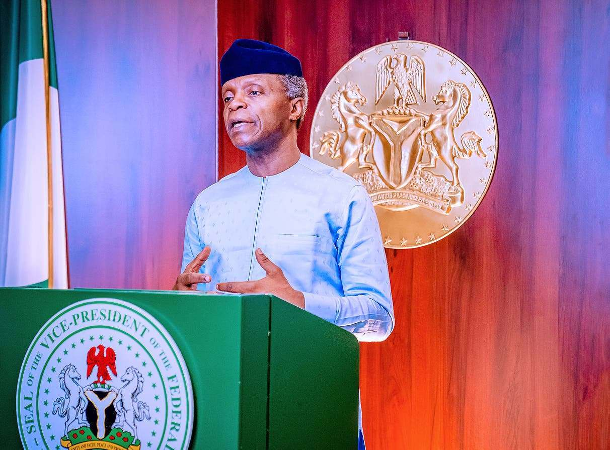 Nigerians come for Yemi Osinbajo, demand for their resignation