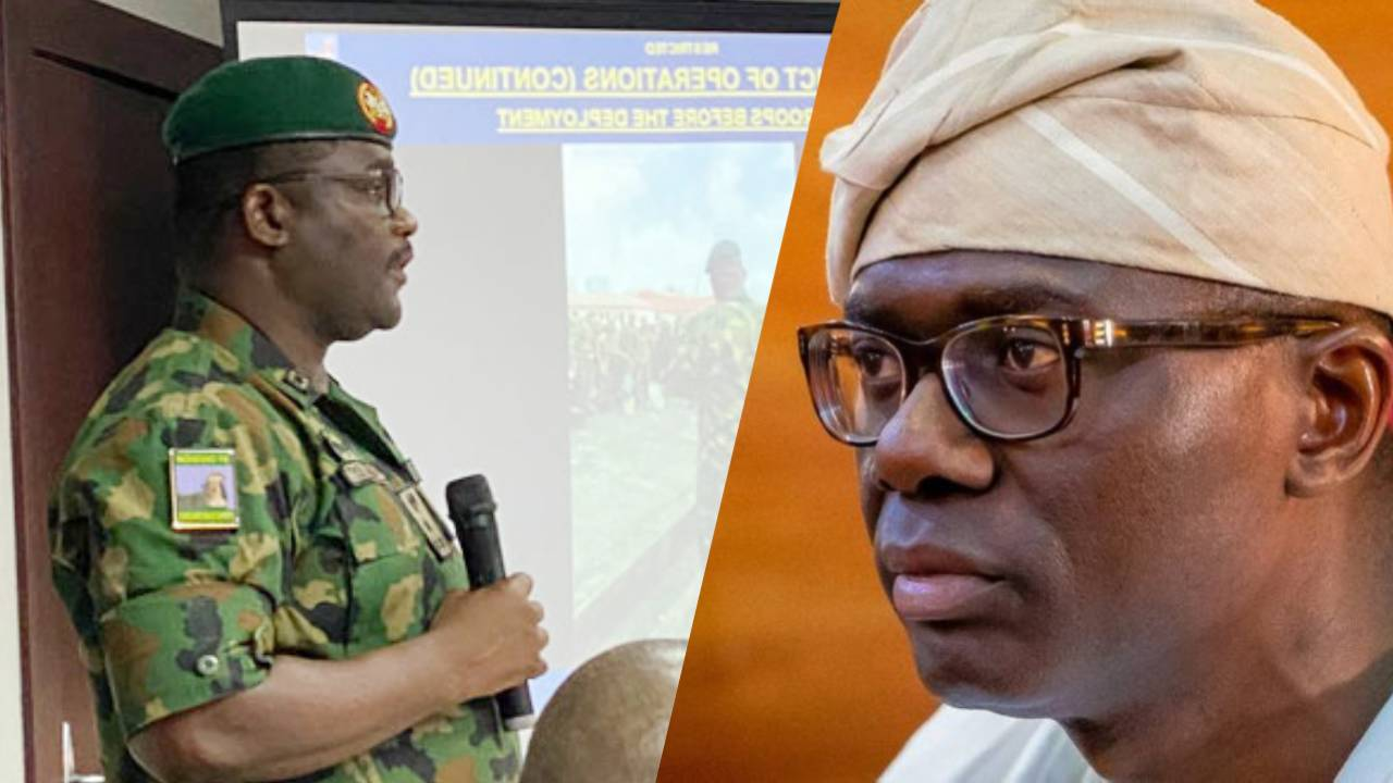 Military Indict Sanwo-Olu at Judicial Panel