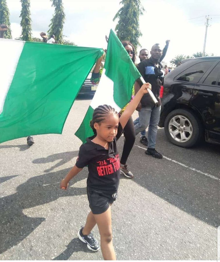 #EndSARS Protest 2 rocks Lagos and Abuja (video)