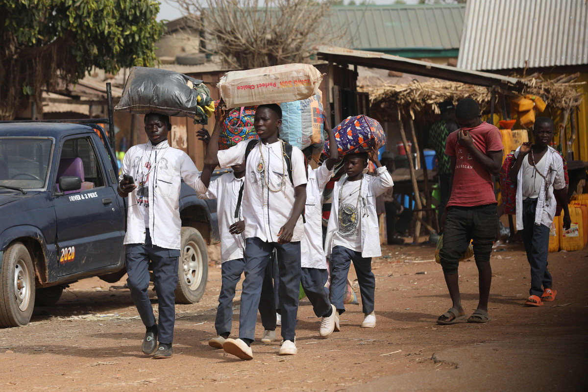 More than 300 school boys Abducted by Boko haram freed- Governor