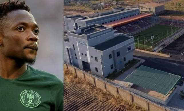 Ahmed Musa builts Multimillion naira Sports complex in Kaduna (pictures)