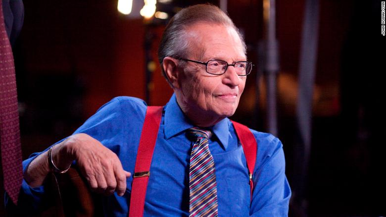 Breaking : Larry King, CNN Legendary Presenter dies at 87