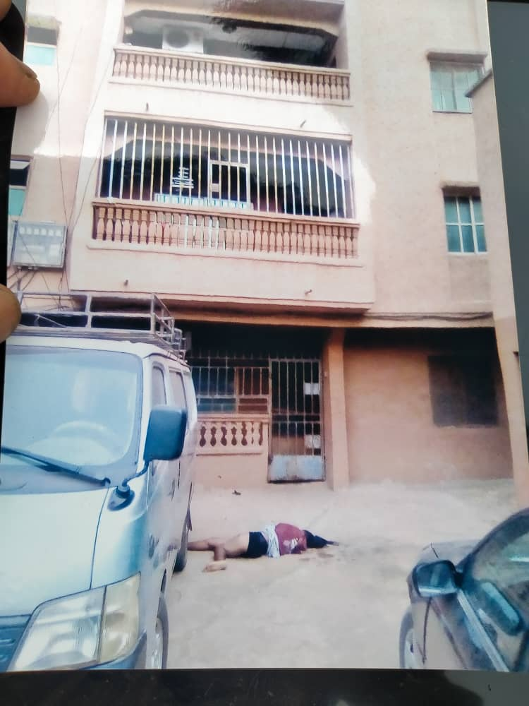 MAN 37,ALLEGEDLY PUSHES GIRLFRIEND FROM A FIVE STOREY BUILDING IN ONITSHA (pictures)