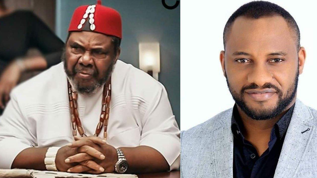 Veteran actor Pete Edochie endorses son to succeed Buhari in 2023