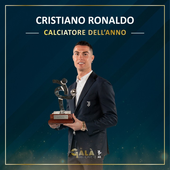 Cristiano Ronaldo Named Serie A Player Of The Year Again
