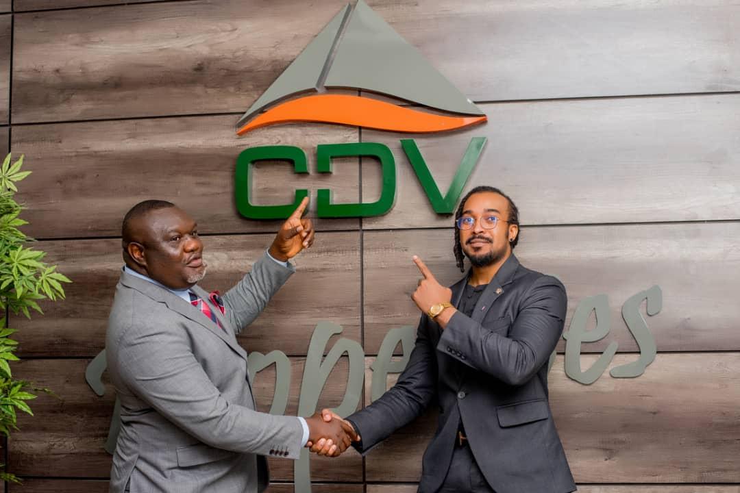 CDV Properties And Development Limited, Unveils Nollywood Actor Bryan Okwara As Ambassador (Photos)