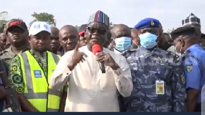 Ortom throws caution to the wind, calls out Buhari (video)