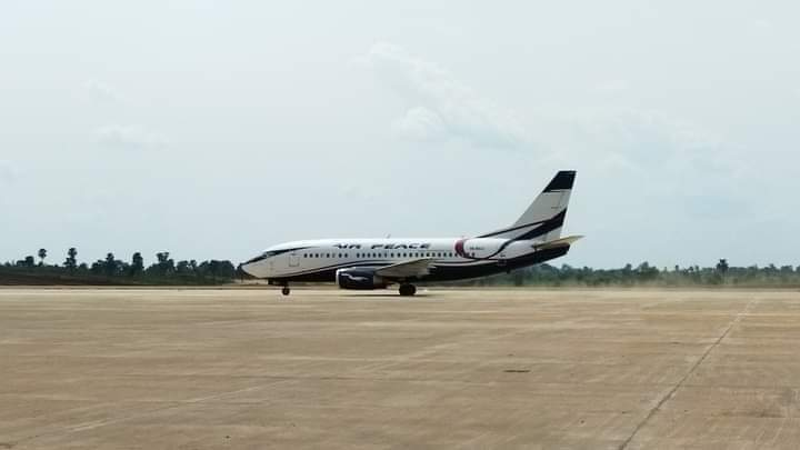 First Airplane lands at Anambra international Airport (video)