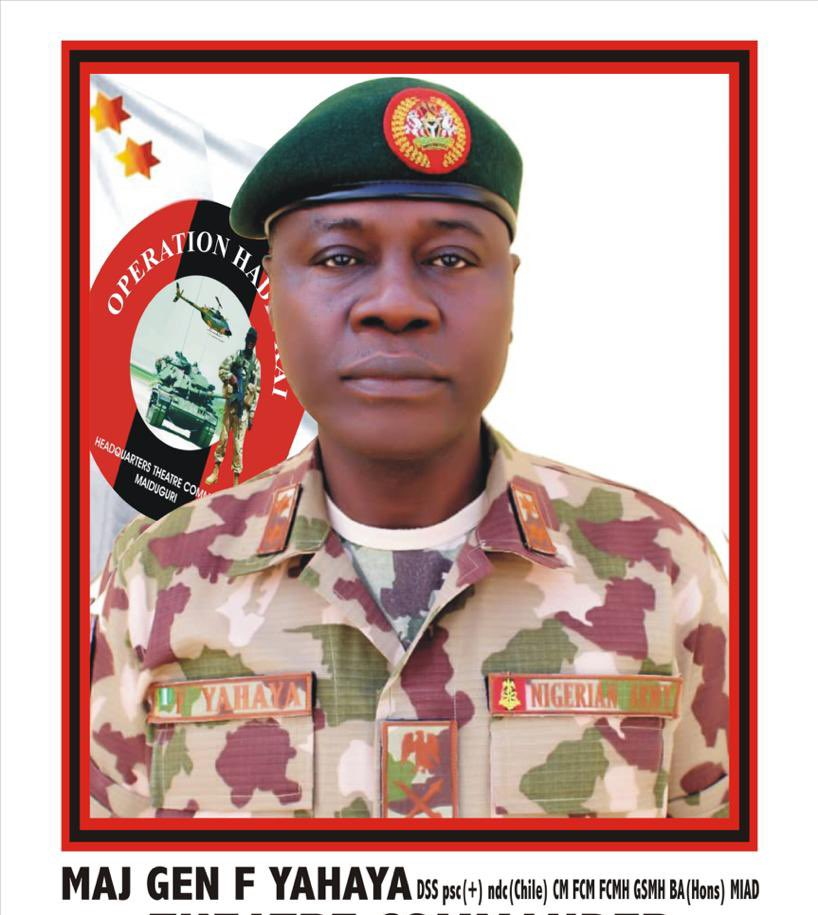 Breaking : Buhari appoints Farouk Yahaya new COAS
