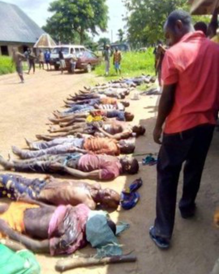 Over 36 persons reportedly killed by Fulani Herders in Benue