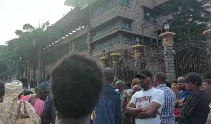 Live Coverage from TB Joshua's synagogue (video)
