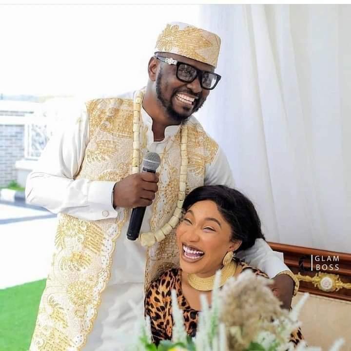 Tonto Dikeh shows off her new man, Prince Kpokpogri (images)