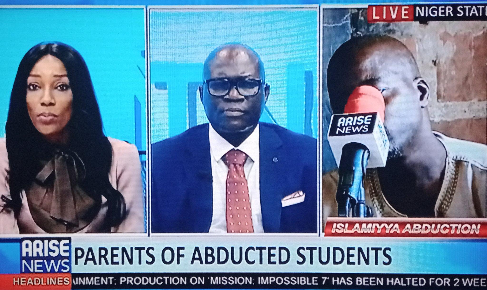 Tears flow on Arise tv as Headmaster of Kidnapped Islamiyya school narrate ordeal (video)