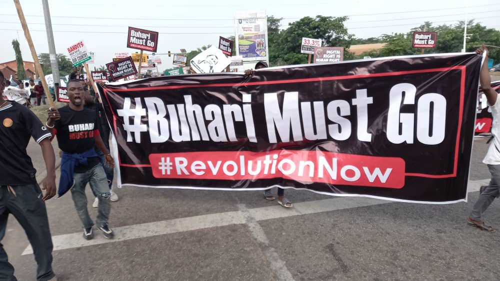 #June12protest : Police attack Protesters at Abuja (video)