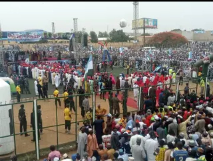 Violence broke out in APC Kano rally (video)