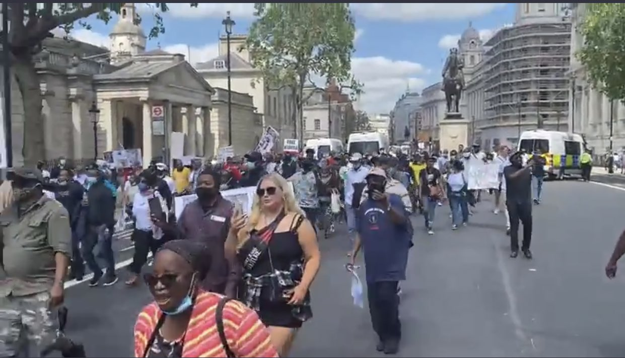#June12protest went global (Video)