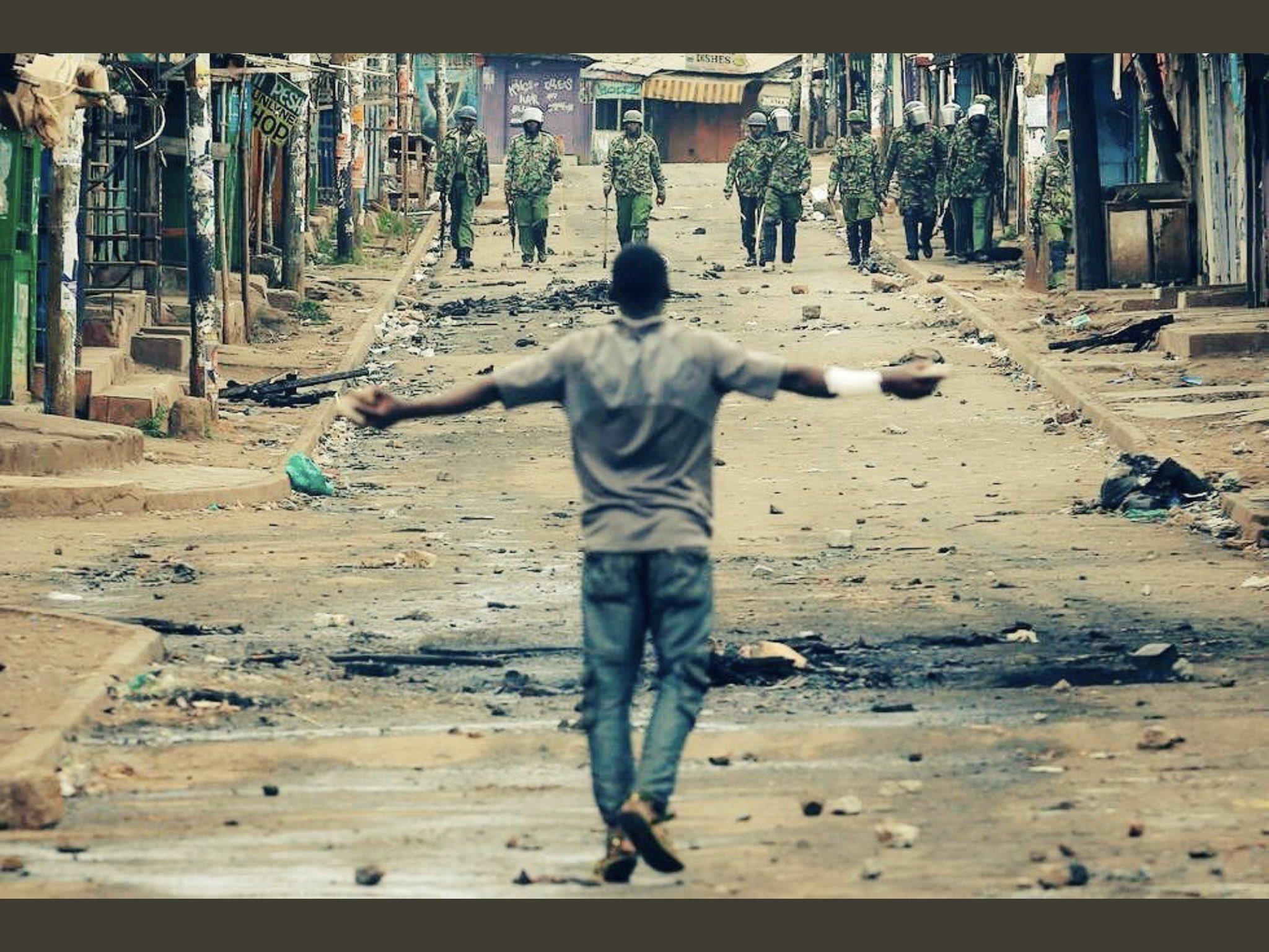 #June12protest : Shameful moments police arrest Protesters (video)