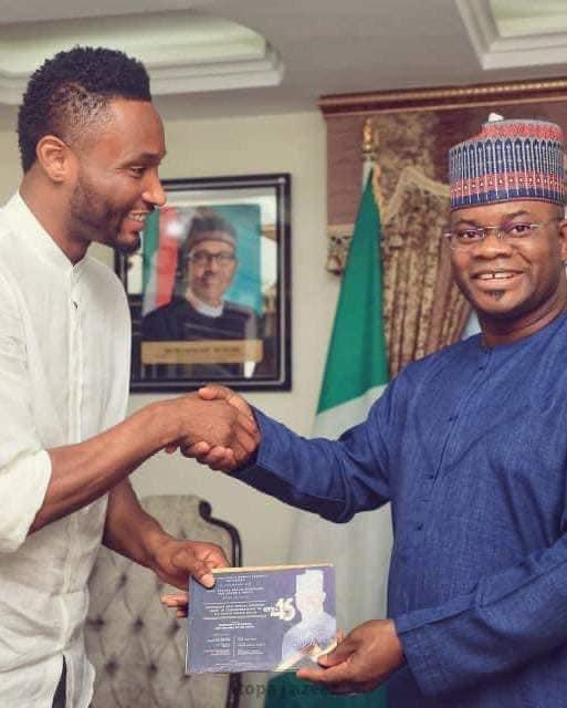 Nigerians react angrily as Mikel Obi endorses Yahaya Bello