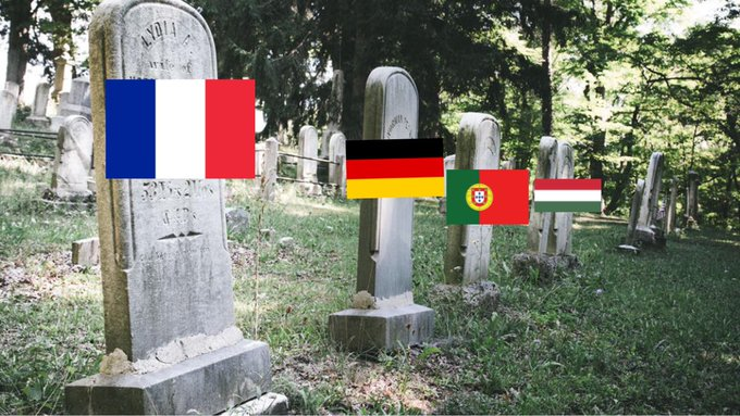 #Euro2020 : Group of death swallows all team members