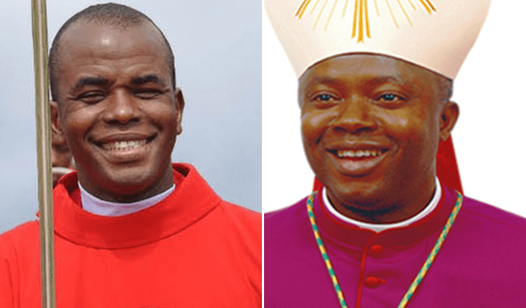 Breaking: Bishop Onaga Finally Takes Over Adoration Ministry From Mbaka
