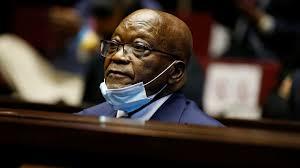 Breaking : Jacob Zuma jailed