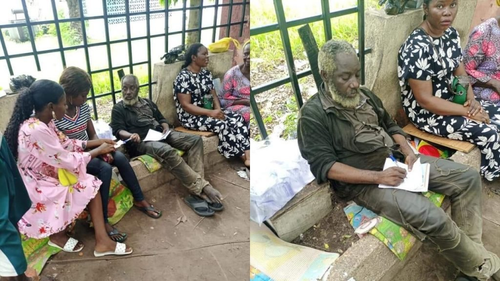 Wonders in Benue as 'mentally derailed' man offers medical services to residents