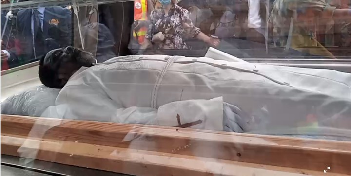 Remains of TB Joshua arrive Synagogue ( video, pictures)