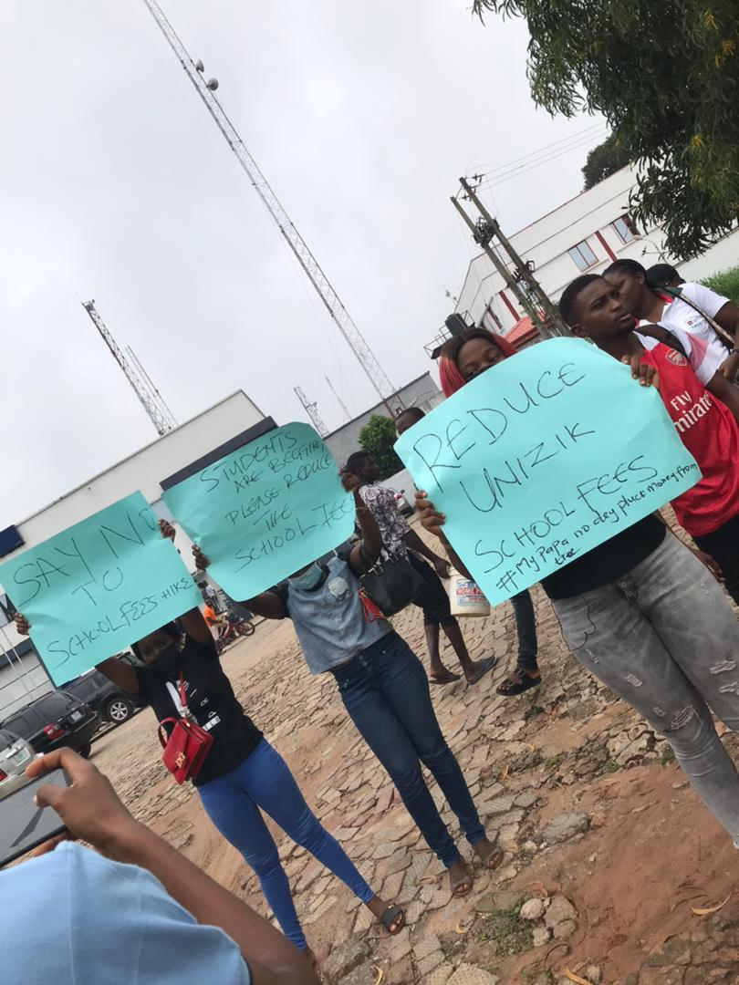 Exclusive : Real situation from Unizik student's protest