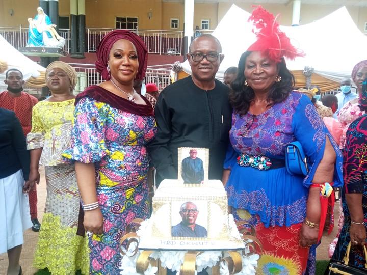 Peter Obi celebrates 60th birthday