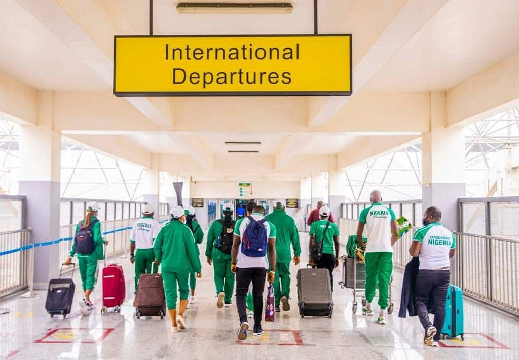 complete list of all the 60 Athletes representing Nigeria at TOKYO 2020
