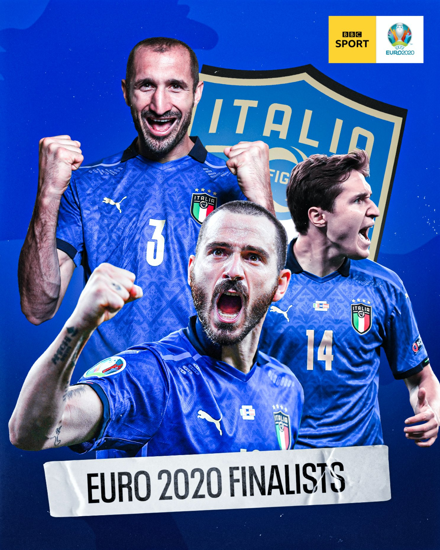 Italy beat Spain to progress to Euro2020 finals