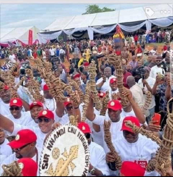 7 different categories of people at Obi Cubana Mum's burial (images)