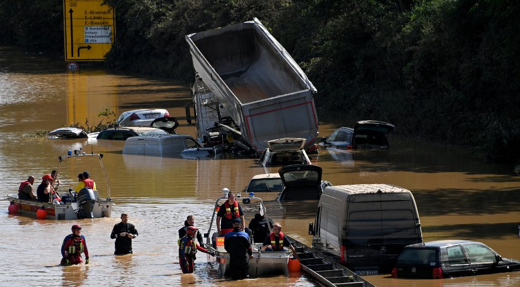 Death Toll rises to 187 across Europe after devastating flooding ( video)