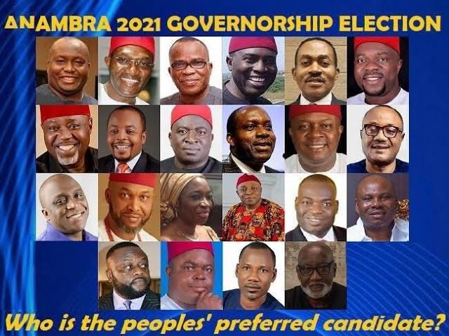 #AnambraElection : List of all party flag bearers ahead of the poll