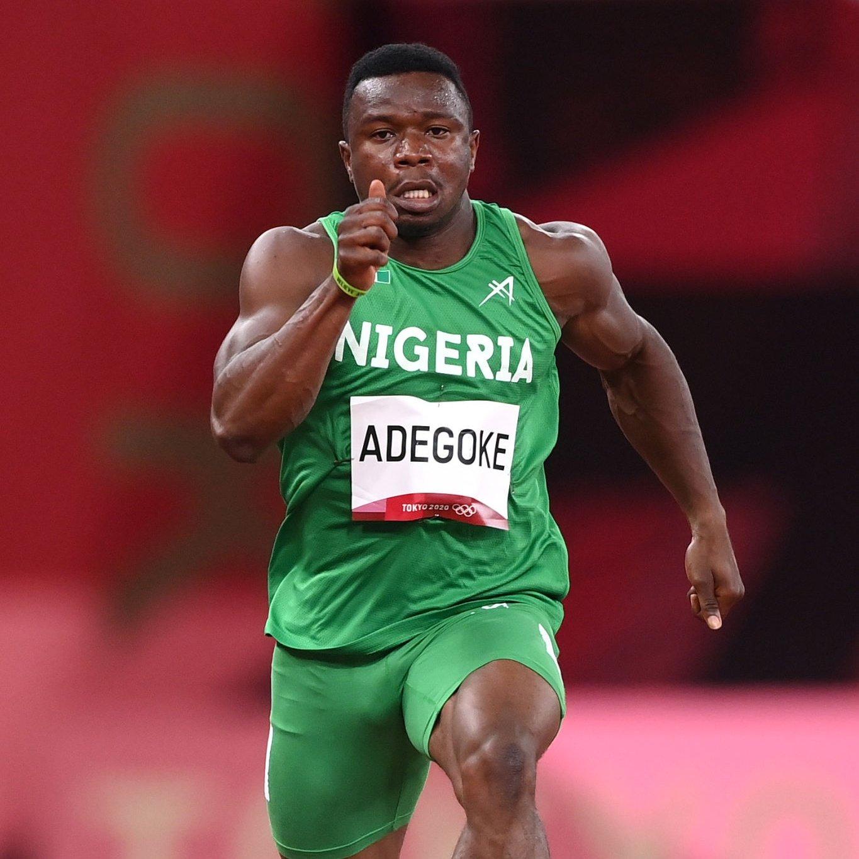 #TokyoOlympics :Enoch Adegoke qualifies for Men's 100m finals(video)
