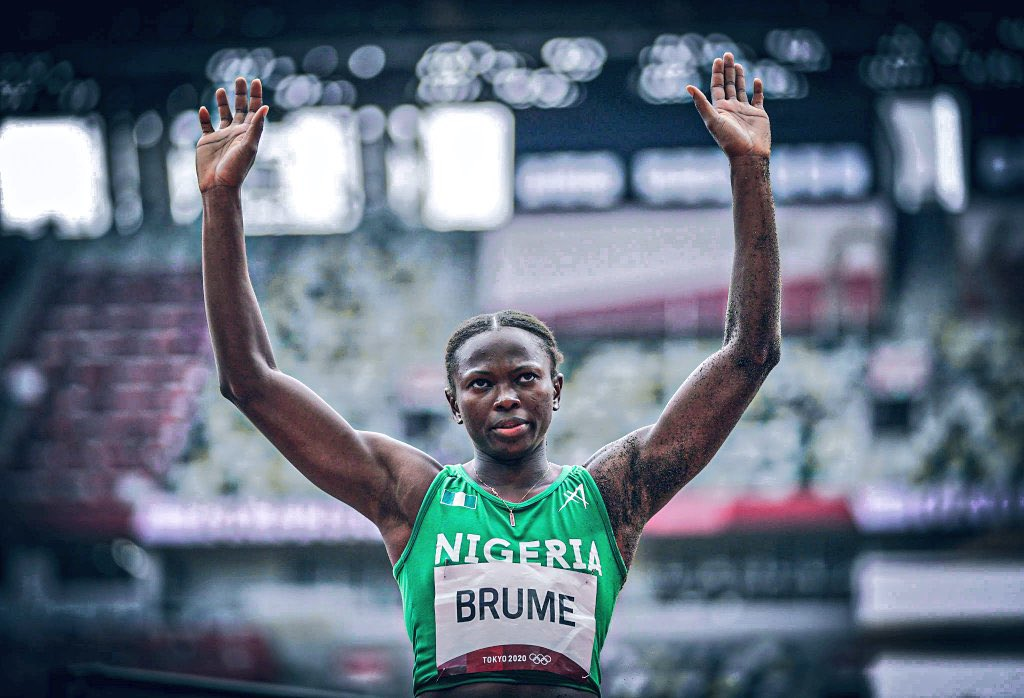 #TokyoOlympics :Ese Brume wins Nigeria her first medal