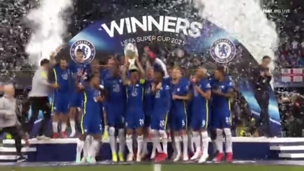 #Supercup : Chelsea win Villarreal to clinch the super cup