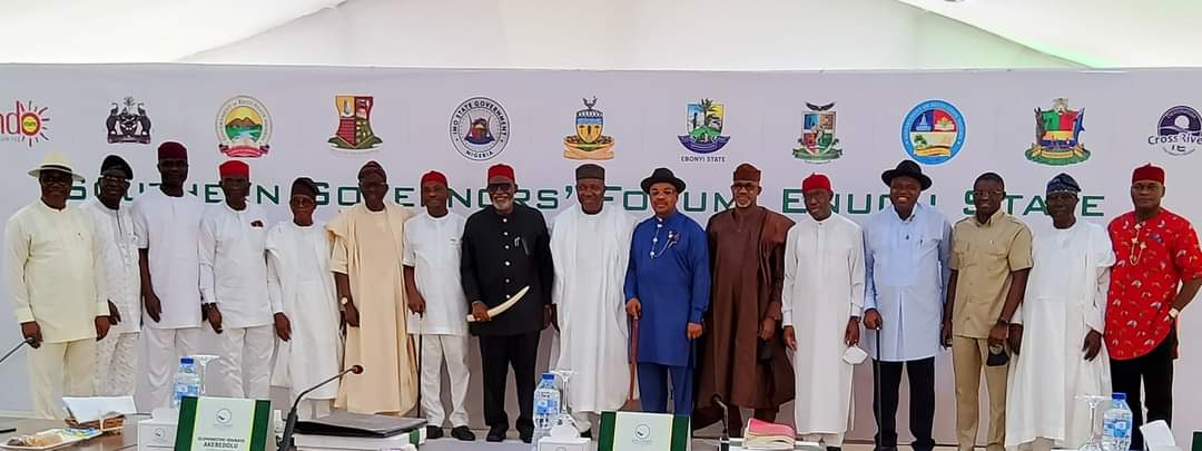 What Southern Governors Concluded After Their Meeting In Enugu