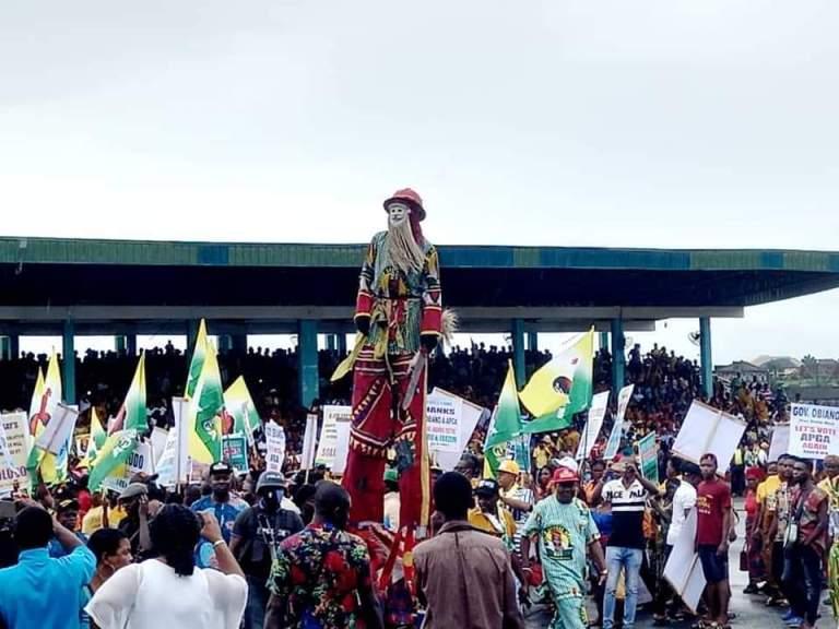 APGA Anambra gubernatorial campaign flag off