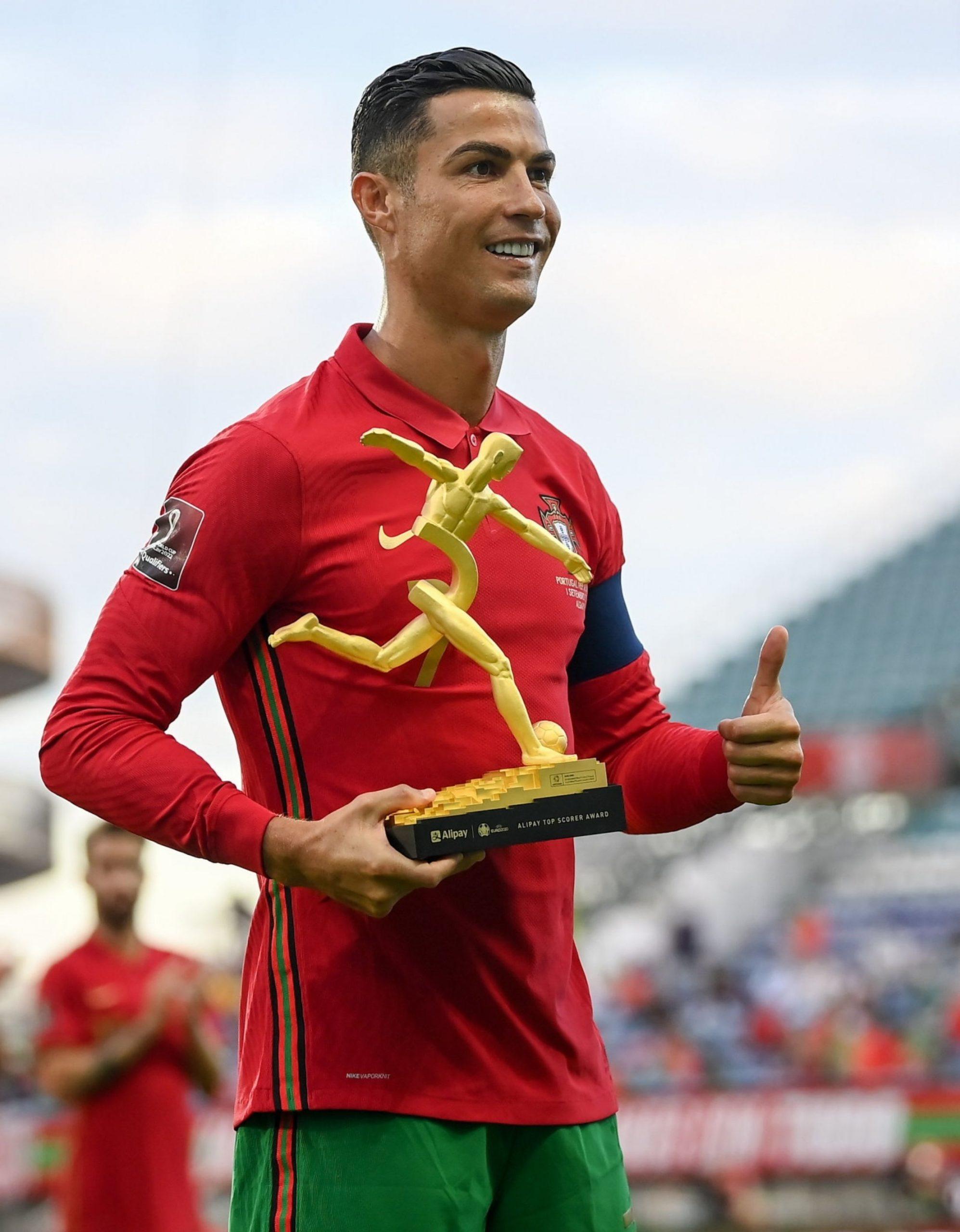 Breaking : Ronaldo becomes highest scoring man in international soccer