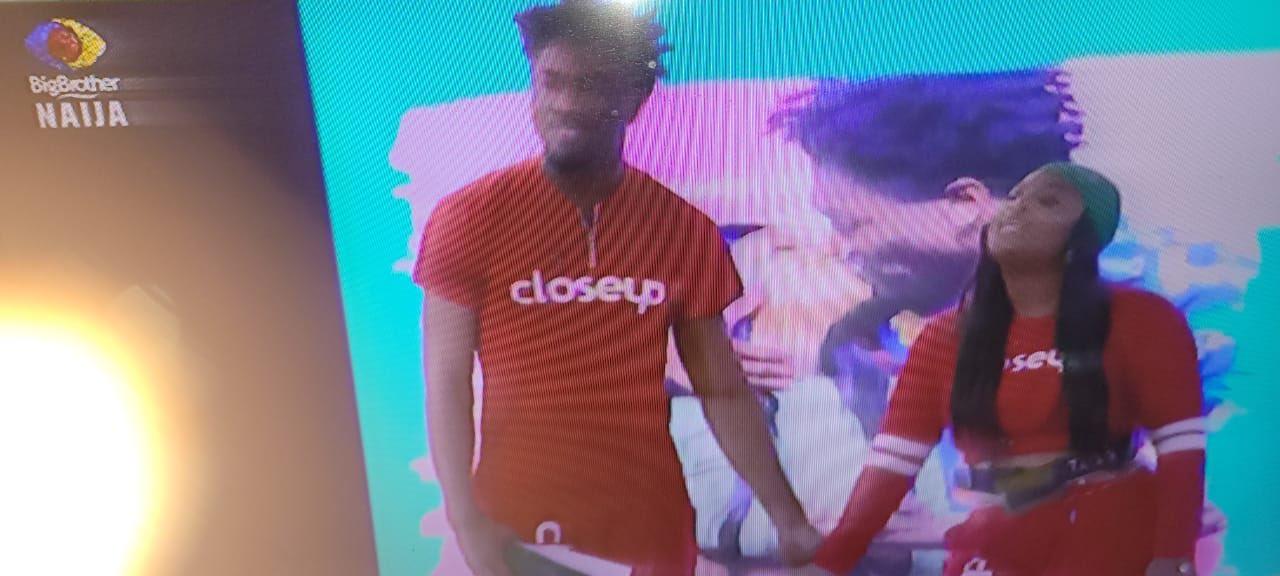 #BBNaija2021 : Tega and Boma take their affair deeply (video)
