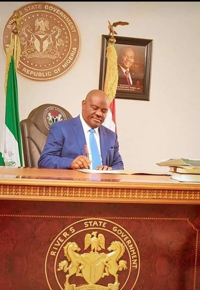 Gov.Wike sets to gain economic freedom from Federal Government, declares date for state tax collection resumption