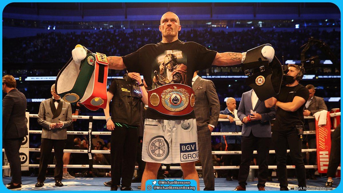 Oleksandr Usyk wins Anthony Joshua