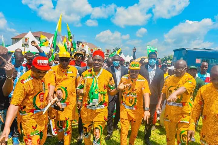 Gunmen attacked APGA rally, holds convoy hostage in Anambra